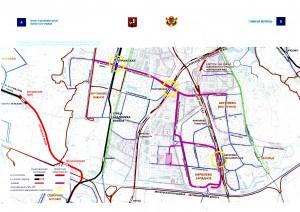 Проект планировки линии скоростного трамвая