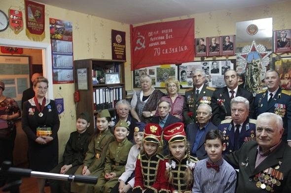 Участники встречи в Совете ветеранов 18 февраля 2017 года
